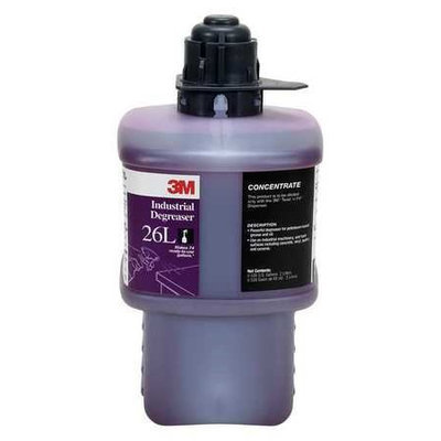 3M Industrial Degreaser (Size 2L, Red). Model: 26L