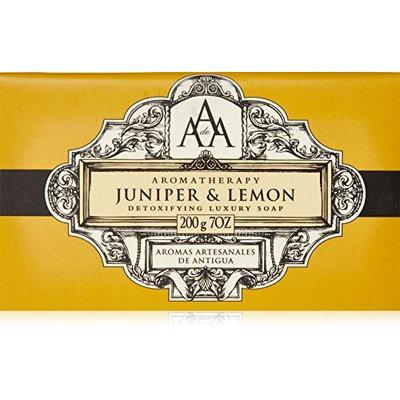 AAA Aromatherapy Juniper & Lemon Triple Milled Soap 200g / 7oz