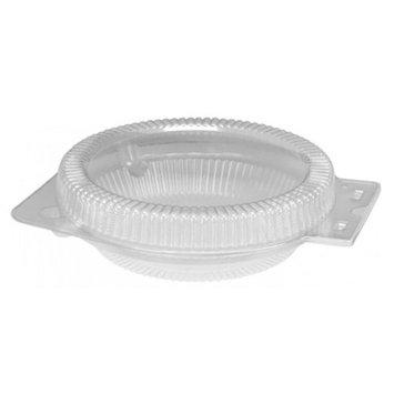 7 x 7x 2 Inch Hinged Shallow Pie Container, Case of 250