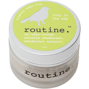 Routine De-Odor-Cream Handcrafted 50ml Clay Formula Deodorant Cream (Lucy In The Sky (Vegan))