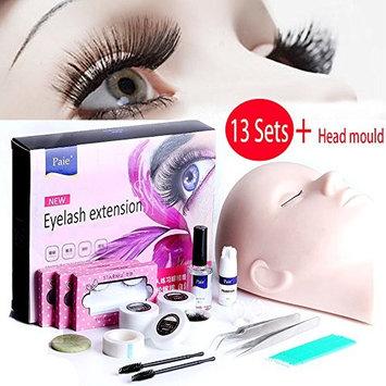 Vinmax Pro Eyelashes Extension Kit &Grafting Eyelash Tools Set&Full Mannequin Training Makeup False Eyelashes Extension Glue Tool Practice Kit Makeup For Beginner False Eyelash Extension Tools (13)