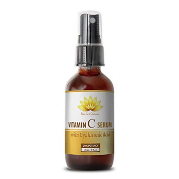 Wrinkle serum - VITAMIN C SERUM With Hyaluronic Acid - Face serum - 1 bottle