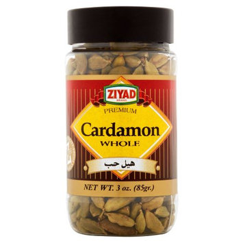 Ziyad Brothers Importing Ziyad, Cardamon Green, 3 Oz (Pack Of 12)