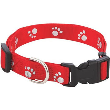 Westminster Pet Products Westminster Pet 39242 Paw Prints Reflective Pet Collar