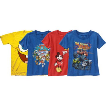 Disney Toddler Boys Assorted Characters Graphic Tees, Your Choice