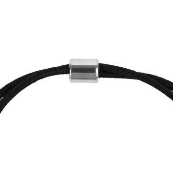 Brinley Co. Women's Glass Stone Elastic Hair Tie or Bracelet, 6.5