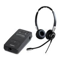 Jabra BIZ 2400 II Duo UNC with Link 860 Amp Duo QD Headset