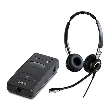 Jabra BIZ 2400 II Duo UNC with Link 860 Amp Duo QD Headset