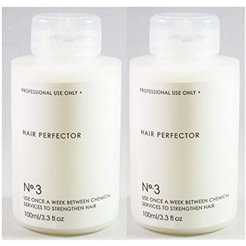 Hansi Naturals Hair Perfector No. 3 Repairing Treatment, 3.3 Once (2pack)