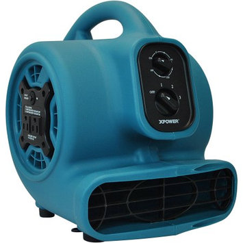 XPower P-250AT 3 Speeds Mini Air Mover w/ Daisy Chain, 3-Hour Timer & Refillable Scent Cartridge (PP