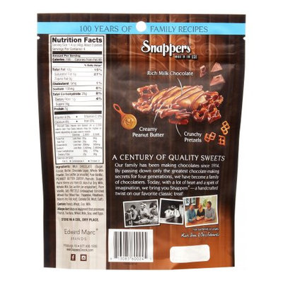 Snappers Candy Milk Chocolate Peanut Butter, 6 Oz