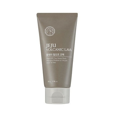 The Face Shop Jeju Volcanic PEEL-OFF CLAY NOSE MASK 50g Nose Blackhead Pack