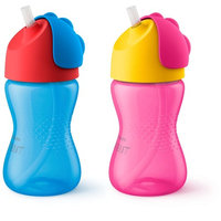 Philips Avent - My Bendy Straw Cups - SCF792/00 - Girls Colors