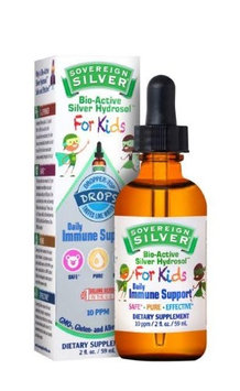 Bio-Active Silver for Kids Sovereign Silver Natural Immunogenics 2 oz Dropper