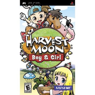 Svg Distribution Harvest Moon Boy and Girl