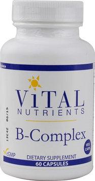 Vital Nutrient's Vital Nutrients - B-Complex - 60 Vegetarian Capsules