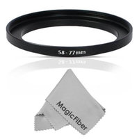 Altura Photo 58-77mm Step-Up Adapter Ring (58mm Lens to 77mm Accessory)