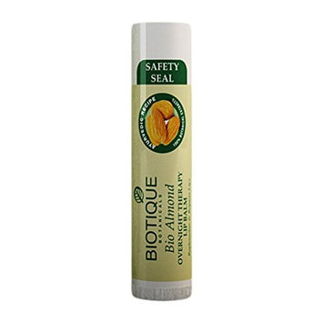 Bio Almond Overnight Therapy LIP Balm Replenishes & Repairs Lips 5gm by Biotique