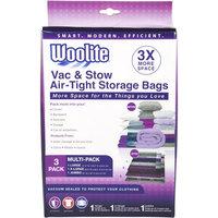 Woolite 3-Piece Vacuum Storage Bags Multi-Pack