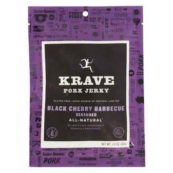 All Natural Pork Jerky Black Cherry Barbecue - 1 oz.