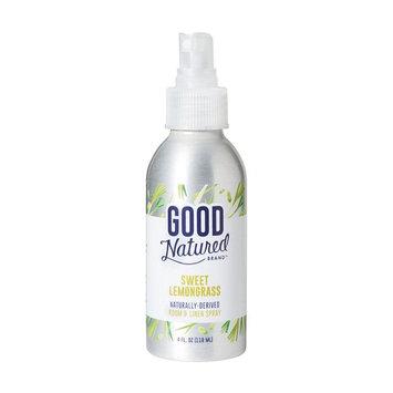Good Natured Brand All-Natural Eco-Friendly Lemongrass Room & Linen Spray 4 fl. oz.