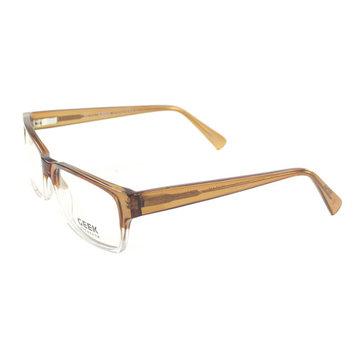 Geek Eyewear GeekV.0.1 BRN 55mm Unisex Rectangle Eyeglasses