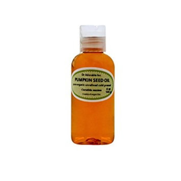 Dr. Adorable - 100% Pure Pumpkin Seed Oil Organic Cold Pressed Unrefined Natural Hair Skin Anti Aging - 4 oz
