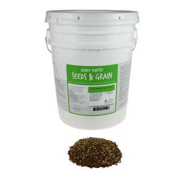 Handy Pantry 5 Part Organic Sprouting / Sprout Seed Salad Mix - Seeds Sprouts - 35 Lb