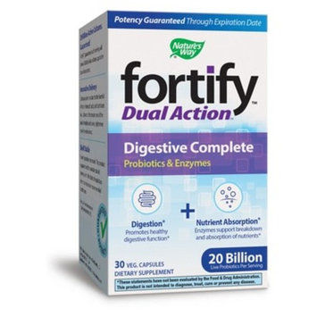 Nature's Way Fortify Probiotic Plus Digestive Complete - 30ct