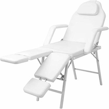 Facial Bed Artificial Leather White Facial Bed Massage Chair Can be easily converted to a facial bed