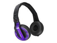 Pioneer HDJ-500V DJ Headphones Violet