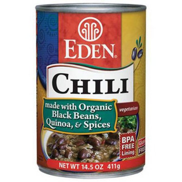 Eden Organic Eden Chili - Black Beans & Quinoa, 14.5 Ounce (Pack of 6)