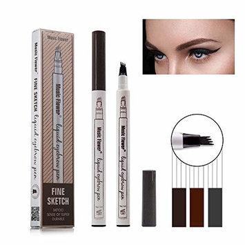 Eyebrow Tattoo Pen, Liquid Eye Brow Eyebrow Pencil Waterproof Long Lasting Makeup Eyebrow Pen
