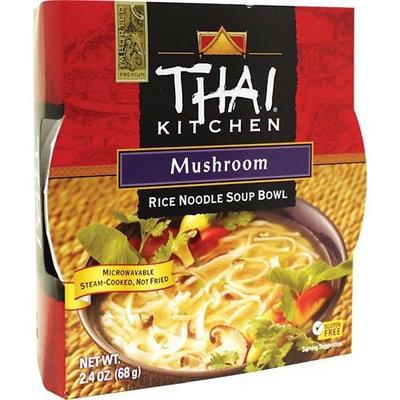 Thai Kitchen Gluten Free Mushroom Rice Noodle Soup Bowl, 2.4 oz (Case of 36)