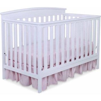 Delta Children's Products Gateway 4-in-1 Fixed-Side Crib, White