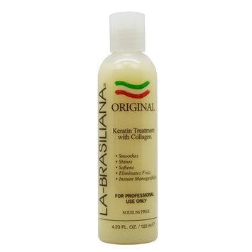La Brasiliana La-Brasiliana Original Keratin Treatment with Collagen 125ml/4.23oz