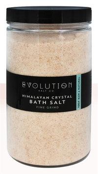 Evolution Salt Company - Himalayan Fine Grind Crystal Bath Salt - 40 oz.(pack of 6)