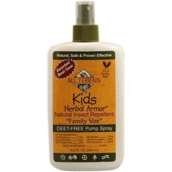 All Terrain Kids Herbal Armor Natural Insect Repellent 'Family Size' - 8 fl oz - HSG-1119528
