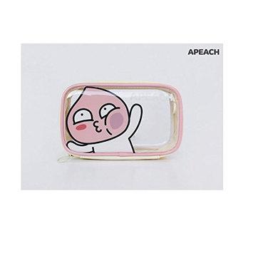 KAKAO FRIENDS Character Clear Pouch RYAN APEACH MUZI NEO Makeup Pouch Bag