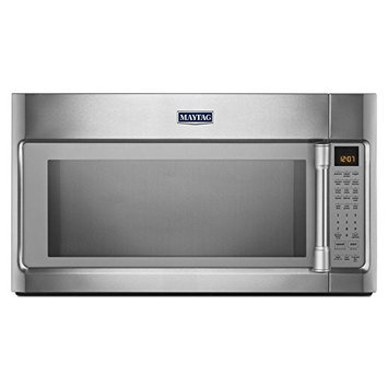 Stainless Steel Maytag(R) 1.9 cu. ft. Over-the-Range Microwave with EvenAir(TM) Convection Mode