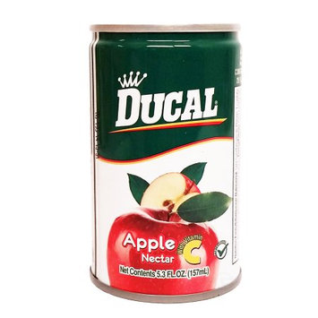 Ducal Apple juice 5.3 oz fl - Jugo de Manzana (Pack of 48)