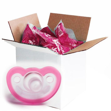 JollyPop Silicone Pacifier - 0-3 Months - Vanilla Scented - Pink
