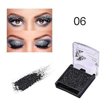 HP95 Metallic Eye Shadow Powder,Matte Glitter Eyeshadow Palette Diamond Makeup Smoky Eyeshadow