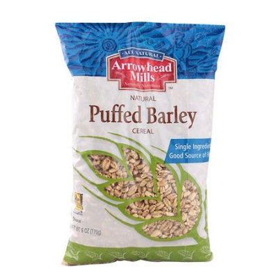 Arrowhead Mills Natural Puffed Barley Cereal 6 oz - Vegan