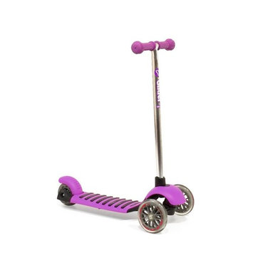 Yvolution Y Glider Deluxe Scooter - Purple