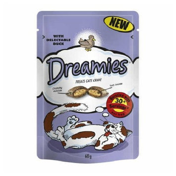 Dreamies Duck Cat Treats 60G