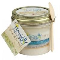 Florida Salt Scrubs Lemongrass Body Feet Hands Bath Salt Scrub 12.1 oz Jar