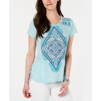 Petite Graphic Top, Created for Macy's