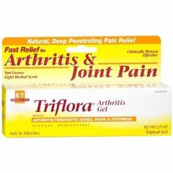 Boericke & Tafel Triflora Arthritis Gel, Clean, Pleasant To Use, Non-greasy, 2.75 Oz., 2.75 Fluid Ounce