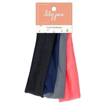 Lily Jane Soft Headwraps - 4ct